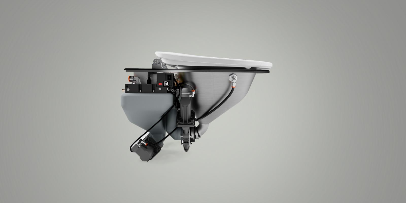 Trainvac vacuum toilet system innovation